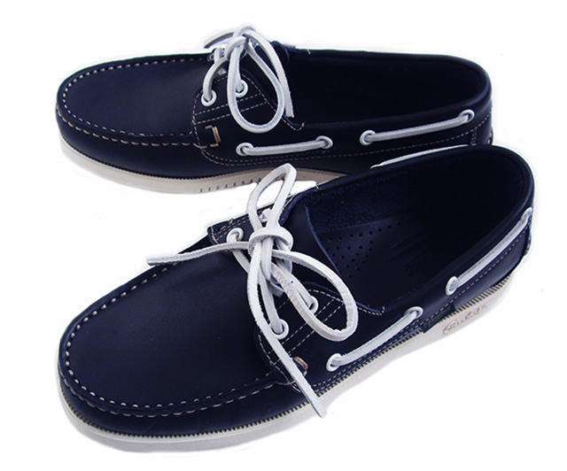 Paraboot デッキシューズ BIRTH MARINE BLANCHE-NAVY