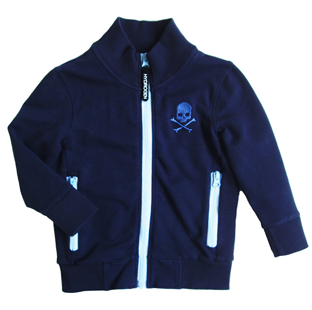 HYDROGEN 142602 FULLZIP TECHNICAL COTTON